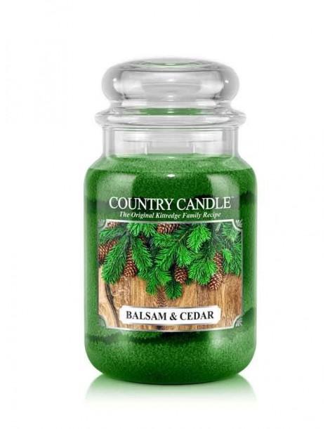 Balsam & Cedar Giara Grande Country Candle