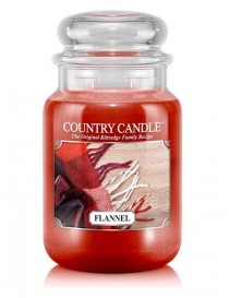 Flannel Giara Grande Country Candle