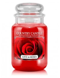 Love & Roses Giara Grande Country Candle