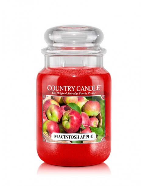 Macintosh Apple Giara Grande Country Candle