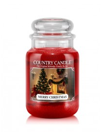 Merry Christmas Grande Country Candle