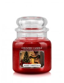 Merry Christmas Giara Media Country Candle
