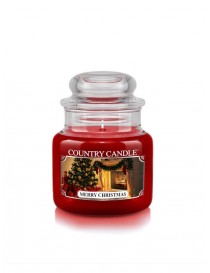 Merry Christmas Giara Piccola Country Candle