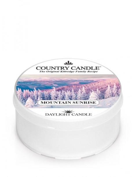 Mountain Sunrise DayLight Country Candle