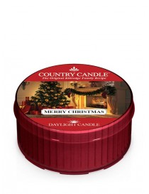 Merry Christmas DayLight Country Candle