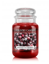 Frosted Cramberries Giara Grande Country Candle