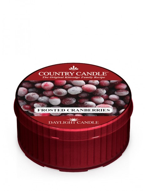 Frosted Cranberries DayLight Country Candle