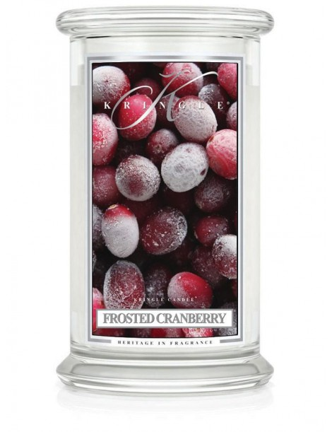 Frosted Cranberry Giara Grande Kringle Candle
