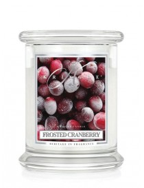 Frosted Cranberry Giara Media Kringle Candle