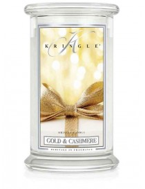 Gold & Cashmere Giara Grande Kringle Candle