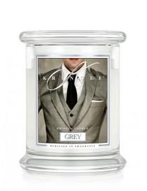 Grey Giara Media Kringle Candle