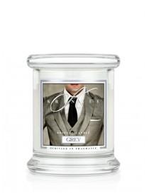 Grey Giara Mini Kringle Candle