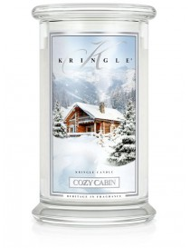 Cozy Cabin Giara Grande Kringle Candle