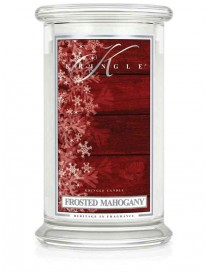 Frosted Mahogany Giara Grande Kringle Candle