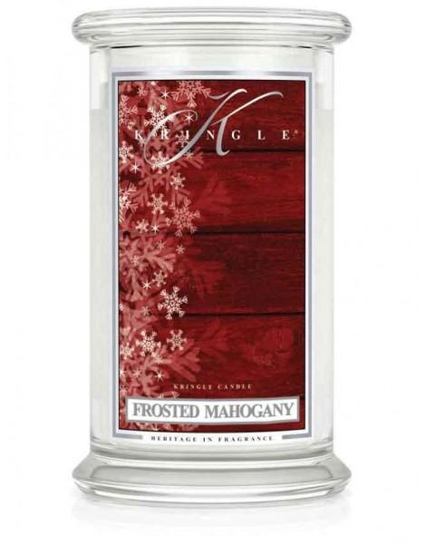 Frosted Mahogany Giara Grande Kringle Candle