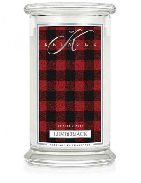 Lumberjack Giara Grande Kringle Candle