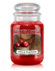 Apple & Teakwood Giara Grande Country Candle