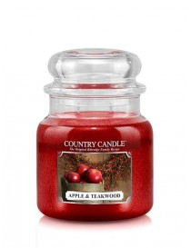 Apple & Teakwood Giara Media Country Candle