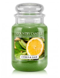 Citrus & Sage Giara Grande Country Candle