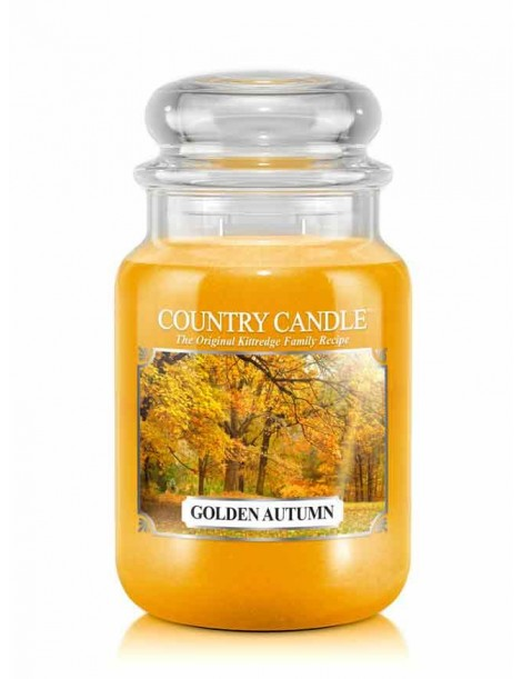 Golden Autumn Giara Grande Country Candle