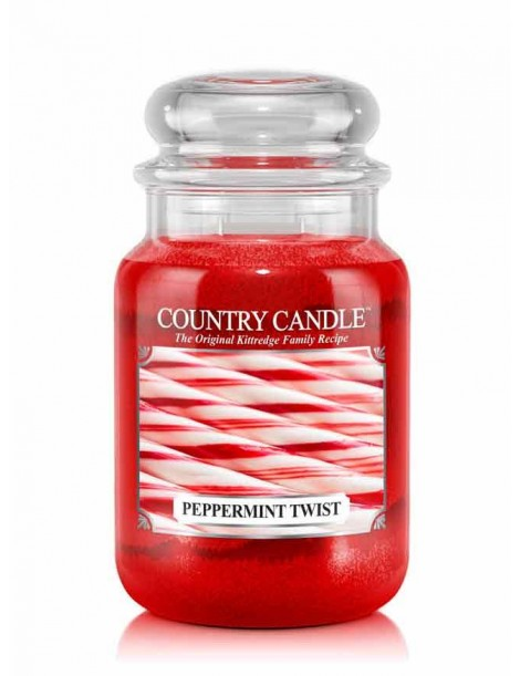 Peppermint Twist Giara Grande Country Candle