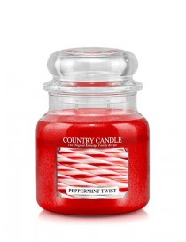 Peppermint Twist Giara Media Country Candle