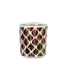 Porta votivo e Tealight Linea Mosaico Autunno