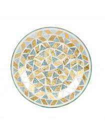 Piattino Sotto Giara Linea Oro e Argento