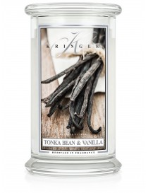 Tonka Bean & Vanilla Giara Grande Kringle Candle