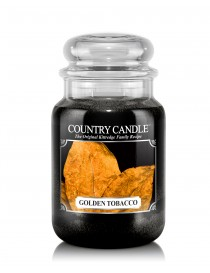 Golden Tobacco Giara Grande Country Candle