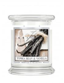 Tonka Bean & Vannilla Giara Media Kringle Candle