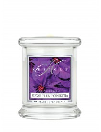 Sugar Plum Poinsettia Giara Mini Kringle Candle