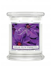 Sugar Plum Poinsettia Giara Media Kringle Candle