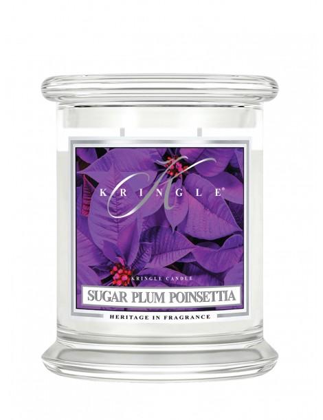 Sugar Plum Poinsettia Giara Media Kringle Candle