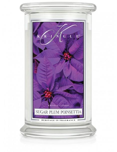 Sugar Plum Poinsettia Giara Grande Kringle Candle