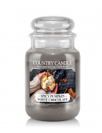 Spicy Pumpkin White Chocolate Giara Grande Country Candle