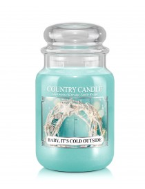 Baby It's Could Outside Giara Grande Country Candle