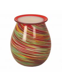 Wood Bruciatore Elettrico Art Glass Aromatize