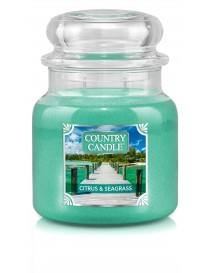 Citrus and Seagrass Giara Media Country Candle