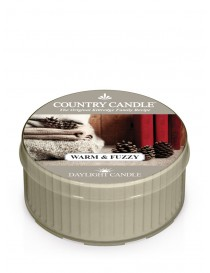 Warm & Fuzzy DayLight Country Candle
