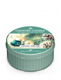 Tinsel Thyme DayLight Country Candle