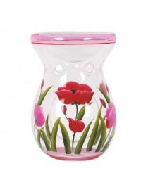 Hand Painted Tulip Bruciatore per Wax Melt