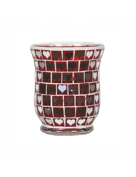 Porta Votivo e Daylight Linea Mosaico Rosso