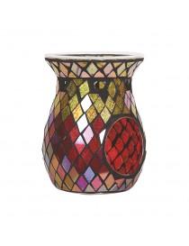 Bruciatore per Wax Melt Linea Mosaico Rosso