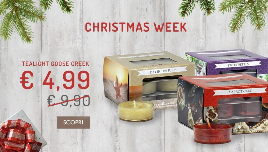 Casa e Regali propone ai propri clienti le tealight Goose Creek Candle